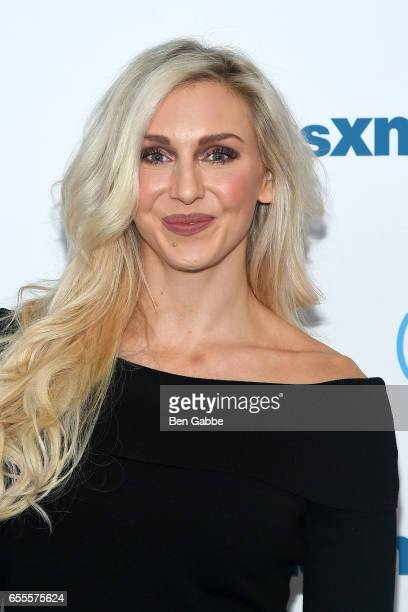Professional Wrestler Charlotte Flair visits at SiriusXM Studios on March 20 2017 in New York City