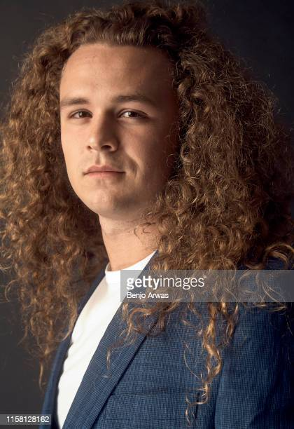 Professional wrestler Jungle Boy of TNT's 'All Elite Wrestling' poses for a portrait during the 2019 Summer TCA Portrait Studio at The Beverly Hilton...