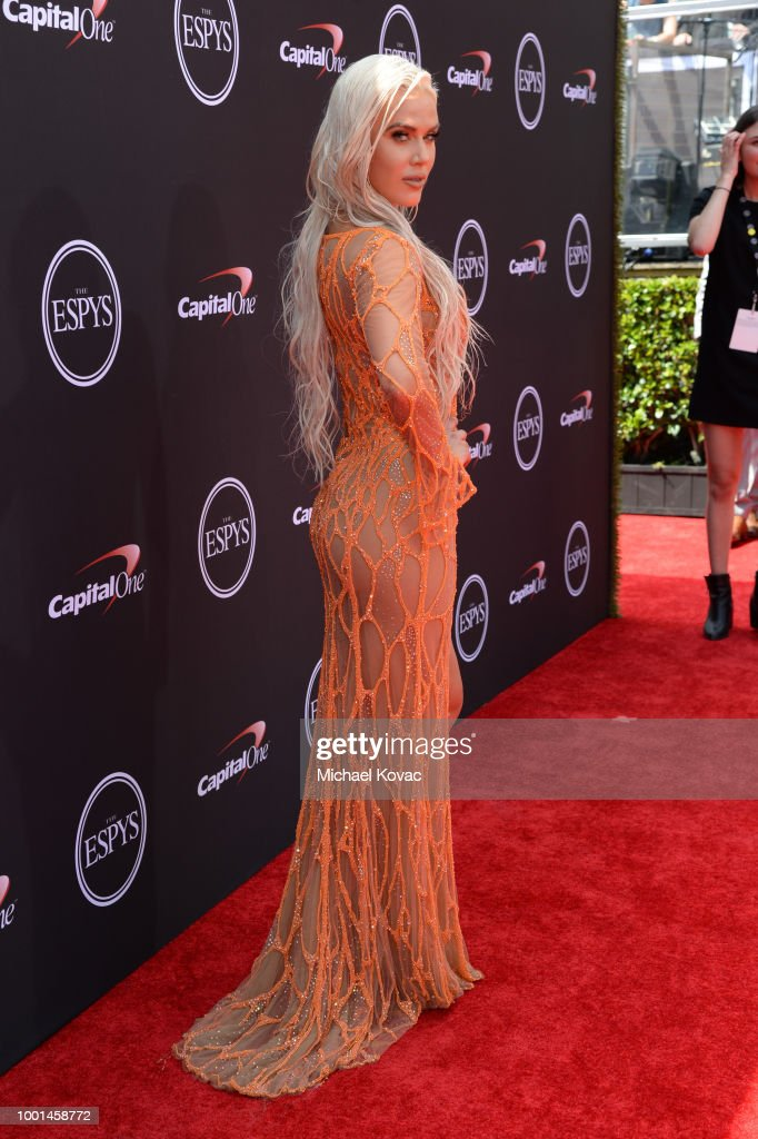 2018 ESPY Awards Red Carpet Show Live! Celebrates With Moet & Chandon : News Photo