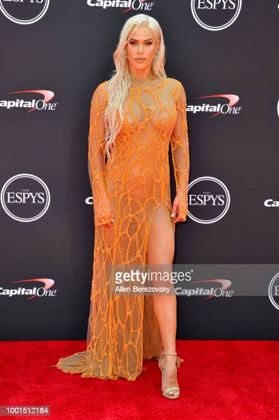 Professional wrestler Lana attends The 2018 ESPYS at Microsoft Theater on July 18 2018 in Los Angeles California