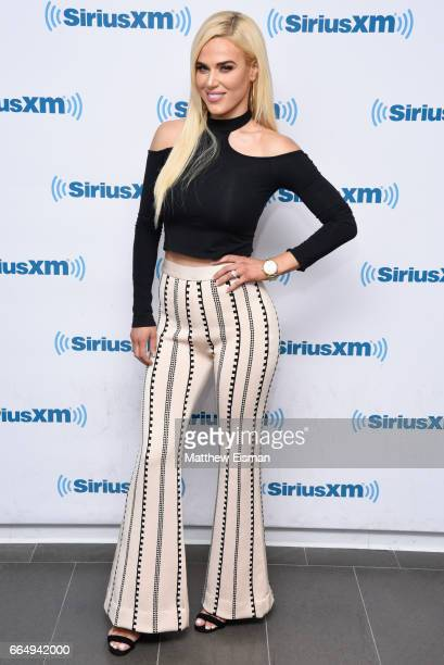 Professional wrestler Lana visits SiriusXM Studios on April 5, 2017 in New York City.