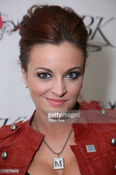 Professional Wrestler Maria Kanellis attends GBK's Gift Lounge for the 2010 Golden Globes Nominees and Presenters Day 1 at the Mondrian Hotel on...