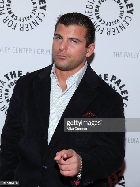 WWE professional wrestler Matt Striker attends the 'Planet Hulk' premiere at The Paley Center for Media on January 14 2010 in New York City