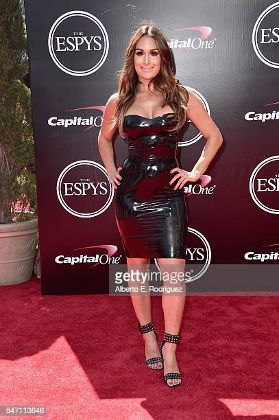 Professional wrestler Nikki Bella attends the 2016 ESPYS at Microsoft Theater on July 13 2016 in Los Angeles California