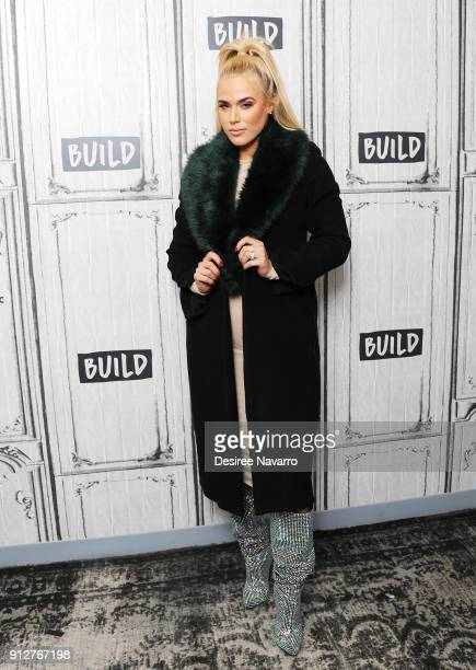 Professional wrestler of WWE Lana visits Build Series to discuss 'Total Divas' at Build Studio on January 31 2018 in New York City