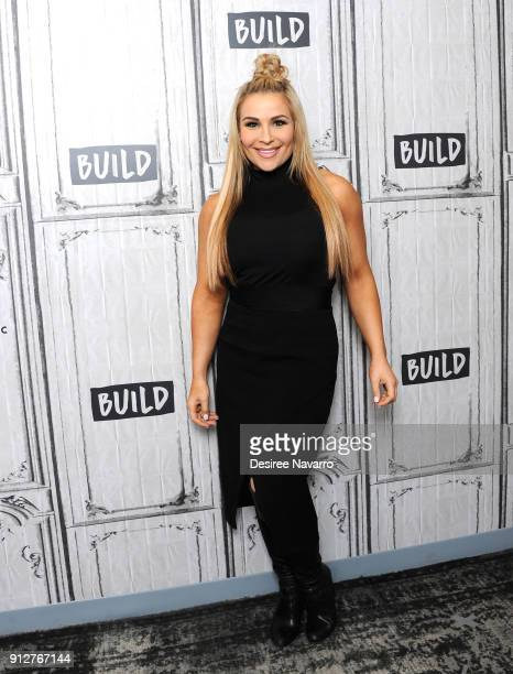 Professional wrestler of WWE Natalya visits Build Series to discuss 'Total Divas' at Build Studio on January 31 2018 in New York City