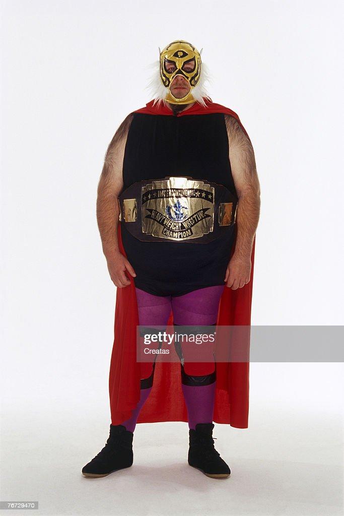 Professional wrestler : Stock Photo