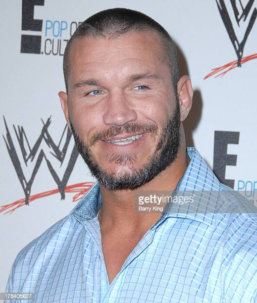 WWE professional wrestler Randy Orton attends the WWE SummerSlam VIP party on August 15 2013 at the Beverly Hills Hotel in Beverly Hills California