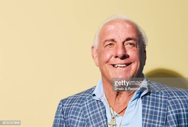 Professional wrestler Ric Flair of 'ESPN's 30 for 30 'Nature Boy'' poses for a portrait during the 2017 Summer Television Critics Association Press...