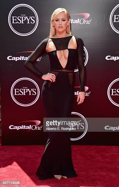 Professional wrestler Summer Rae attends the 2016 ESPYS at Microsoft Theater on July 13 2016 in Los Angeles California