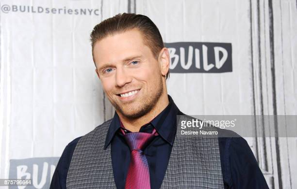 Professional wrestler The Miz visits Build to discuss 'The Challenge Champs vs Stars' at Build Studio on November 17 2017 in New York City