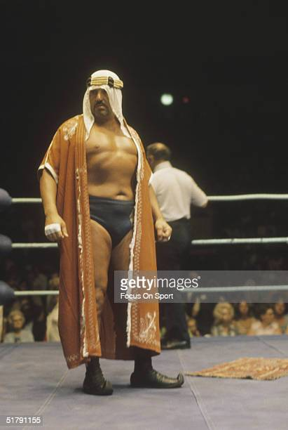 Professional wrestler The Sheik stands in the ring Ed Farhat known as the Sheik in the ring was one of the originators of the hardcore wrestling style