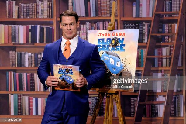 Professional wrestler/actor John Cena visits The Tonight Show Starring Jimmy Fallonat Rockefeller Center on October 9 2018 in New York City
