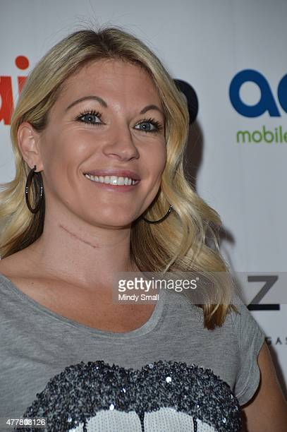Professional wrestling personality Alicia Webb arrives at the Raising the Stakes for Cerebral Palsy Celebrity Poker Tournament at Planet Hollywood...