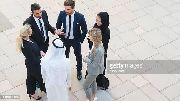 Professionnels au Moyen-Orient