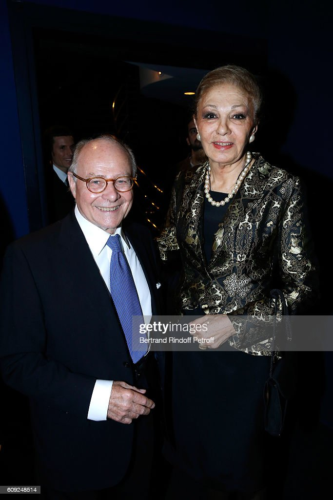 """'Fondation Claude Pompidou' : Charity Party & """"Cezanne et Moi"""" Screening At Georges V In Paris : News Photo"""