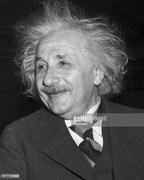 Professor Albert Einstein as he attended a session of the Eighth American Scientific Congress