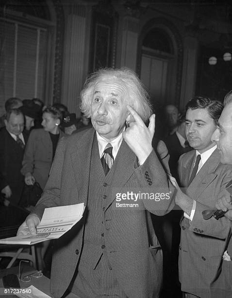 Professor Albert Einstein charged today that British colonial rule was responsible for the trouble between Arabs and Jews in Palestine The 65yearold...