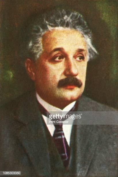 Professor Albert Einstein circa 1928 Portrait of German mathematician and physicist Albert Einstein whose main contribution to science was the theory...