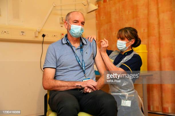 Professor Andrew Pollard, Director of the Oxford Vaccine Group, and a professor of paediatric infection and immunity receives the Oxford...