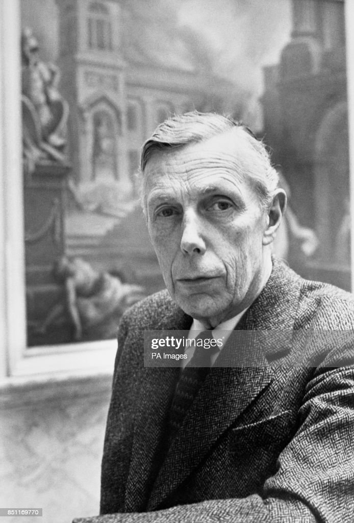 Professor Anthony Blunt, former surveyor of the Queen's pictures, photographed at the Courtauld Institute in 1970. He was named in the House of Commons in connection with the Burgess and Maclean spy scandal.