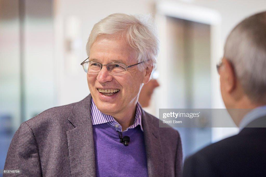 MIT Professor Bengt Holmstrom And Harvard Professor Oliver Hart Share Nobel Prize In Economics : News Photo