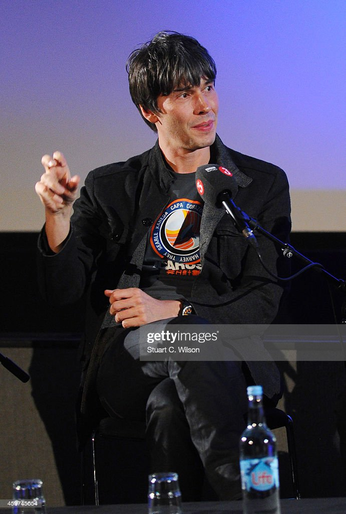Professor Brian Cox attends a panel discussion prior to a screening of '2001: A Space Odyssey', presented by the BFI For BBC Radio 3 at BFI Southbank on November 30, 2014 in London, England.