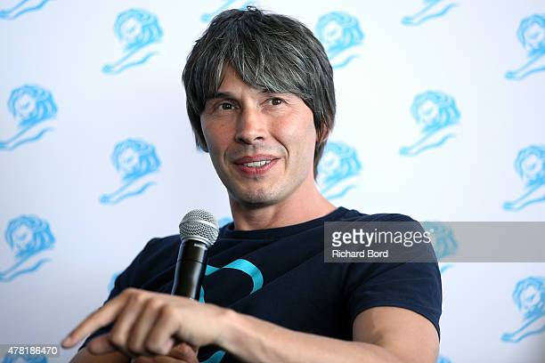 Professor Brian Cox during a QA as part of the Cannes Lions International Festival of Creativity on June 23 2015 in Cannes France