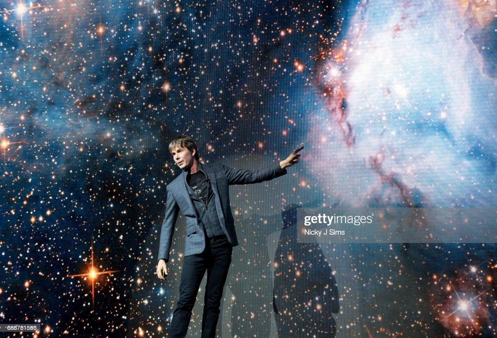 Professor Brian Cox Concludes Record-Breaking Live Tour At Wembley Arena : News Photo
