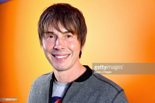 Professor Brian Cox poses for a portrait after speaking at Sightgeist at Science Museum on March 28 2019 in London England Sightgeist is an event...