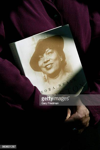 USC Professor CARLA KAPLAN has edited a book about Zora Neale Hurston A Life in Letters Kaplan is a Hurston scholar Kaplan is photographed holding...