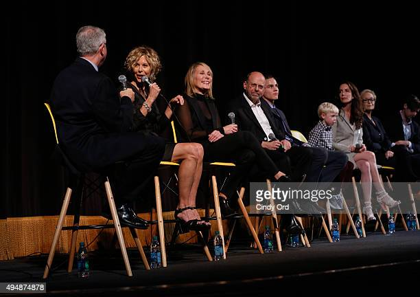 SCAD Professor Chris Auer Actress Meg Ryan and Producer Janet Brenner Executive Producer Robert Immerman Actor Alex Neustaedter actor Spencer Howell...