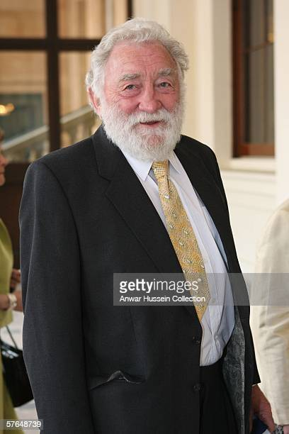 Professor David Bellamy arrives at Buckingham Palace for a reception hosted by Queen Elizabeth II for those 'Serving Beyond Sixty' on May 18 2006 in...