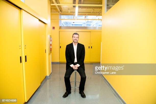 US professor David Carroll is photographed for The Observer Magazine on September 28 2017 in New York City