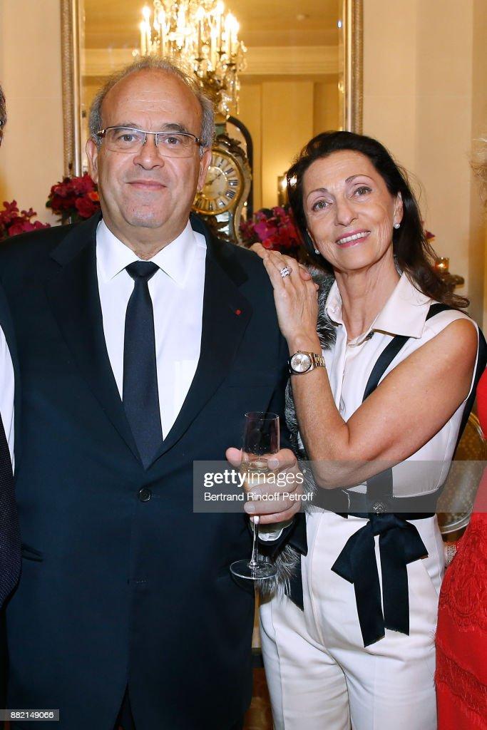 "Charity Gala to Benefit the ""Princess Diya Kumari of Jaipur"" Foundation At Plaza Athenee Hotel In Paris"