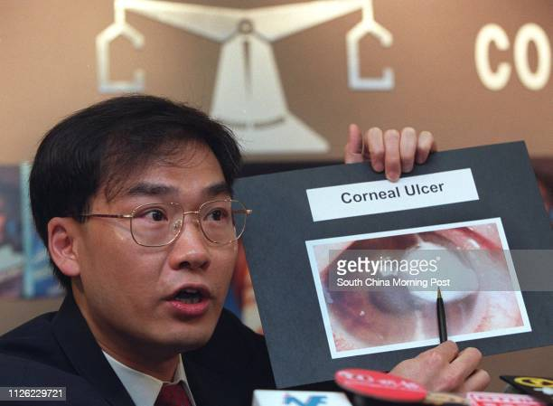 Professor Dennis Lam Shunchiu Chairman of Ophthalmology and Visual Sciences of the Chinese University of Hong Kong says both contact lenses and the...