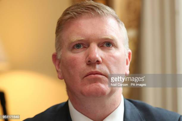 Professor Donal Buggy from the Health Service Executive clinical expert panel during a press conference to address public concern surrounding...