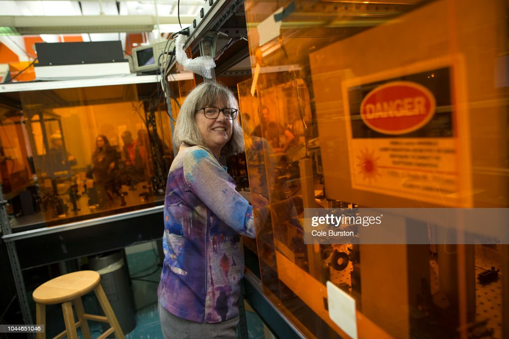 Physicist Donna Strickland Wins 2018 Nobel Prize With Two Other Scientists : News Photo