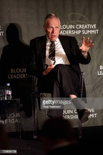Professor Edmund Phelps of Columbia University attends The Louise Blouin Foundation Presents The Fifth Annual Blouin Creative Leadership Summit - Day...