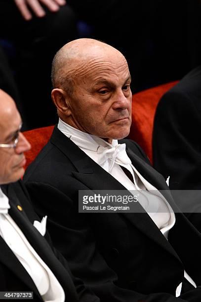 Professor Eugene F. Fama, laureate of The Sveriges Riksbank Prize in Economic Sciences in Memory of Alfred Nobel attends the Nobel Prize Awards...