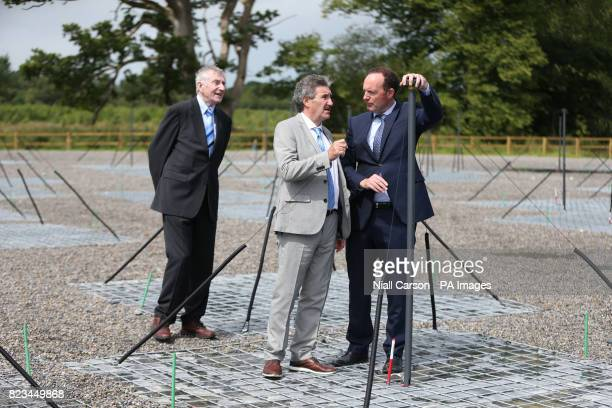 Professor George Miley Minister of State for Training Skills Innovation Research and Development John Halligan and Professor Peter Gallagher from...