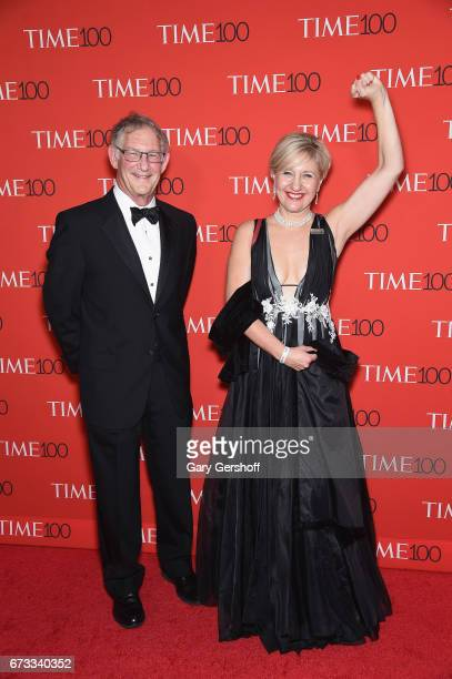 Professor Glenda Gray and husband Jacobus Kloppers attend the Time 100 Gala at Frederick P Rose Hall Jazz at Lincoln Center on April 25 2017 in New...