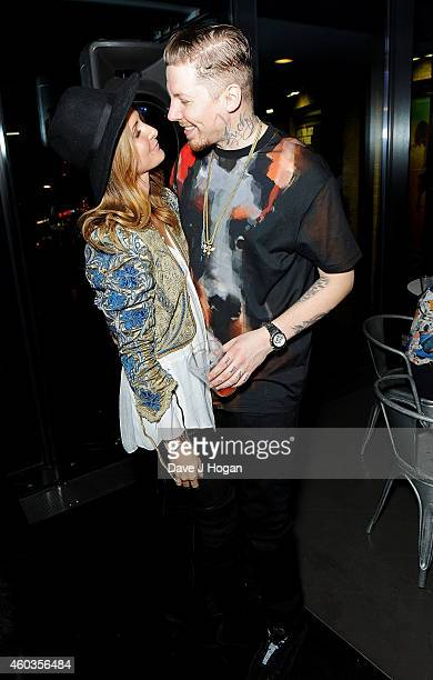 Professor Green and Millie Mackintosh attend an after party for Professor Green at The Roundhouse on December 11 2014 in London England