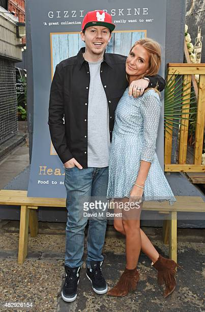 Professor Green and Millie Mackintosh attend the book launch party for 'Gizzi's Healthy Appetite Food To Nourish The Body And Feed The Soul' by chef...