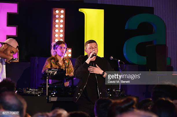 Professor Green attends the Stella McCartney Menswear launch and Women's Spring 2017 collection presentation at Abbey Road Studios on November 10...