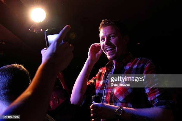 Professor Green performs at Errigle Inn Belfast as part of the annual Arthur's Day celebrations on September 27 2012 Celebrating the life and legacy...
