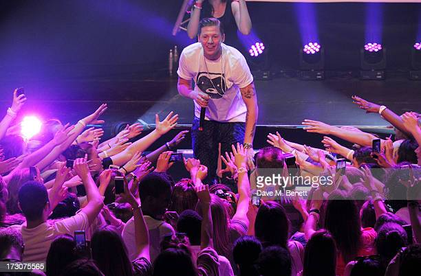 Professor Green performs at vInspired Live a youth social change event at The Roundhouse on July 6 2013 in London England