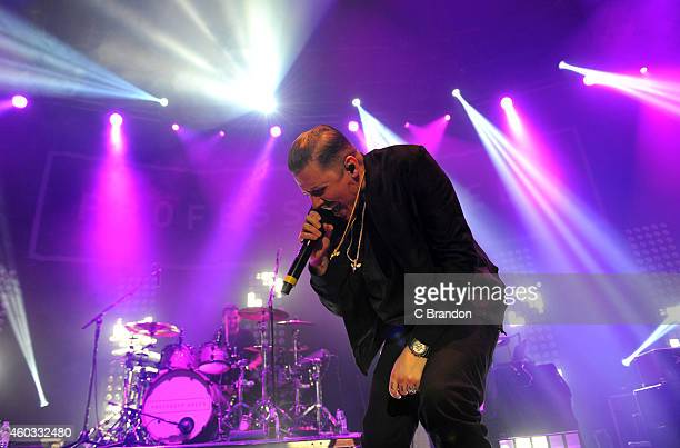 Professor Green performs on stage at The Roundhouse on December 11 2014 in London United Kingdom