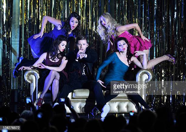 Professor Green performs on stage during the MOBO Awards 2011 at the SECC on October 5 2011 in Glasgow Scotland
