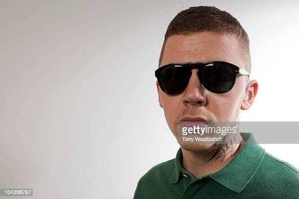 Professor Green poses backstage at O2 Academy Leicester on September 23, 2010 in Leicester, England.
